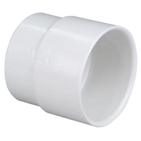 4 in pvc dwv soil pipe adapter c4800hd4 the home depot