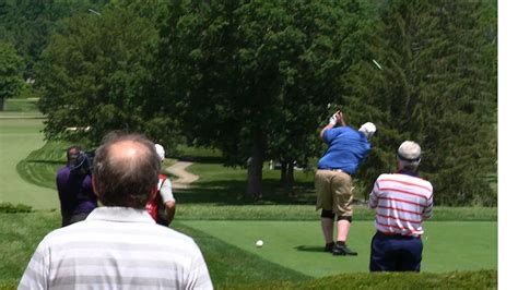 swing justice wv metronews tournament week underway at the greenbrier