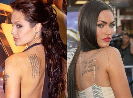 angelina jolie tattoo model tattoo styles for men and women angelina jolie tattoo styles