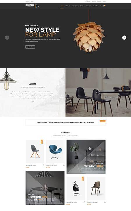 Furniture Interior Design Woocommerce Wordpress Theme Eshop Template