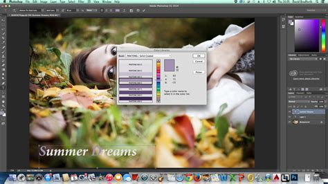adobe photoshop tutorial how to change background colour photoshop tutorial how to change text colour in photoshop