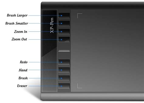 Xp Pen Wacom Smart Graphics Drawing Pen Tablet Rainbow 01 1 Xp Pen Smart Graphics Drawing Pen Tablet With Smart Stylus