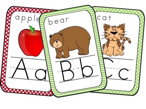printable alphabet for classroom cute alphabet card printables classroom pinterest