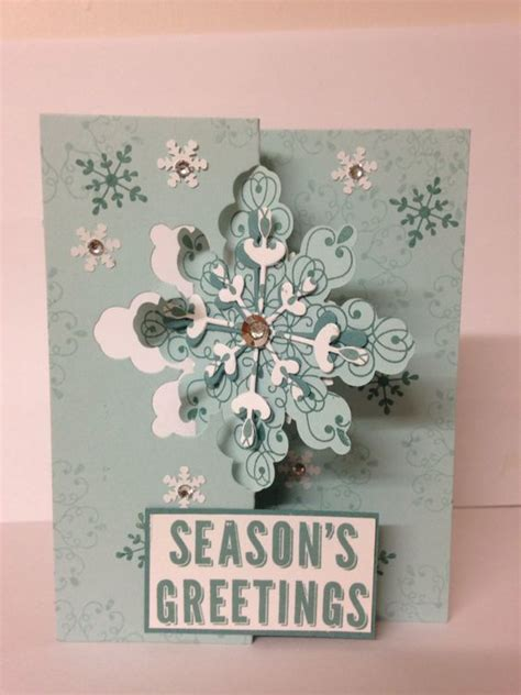 up letter to winter snowflakes snowflake cards and sts on