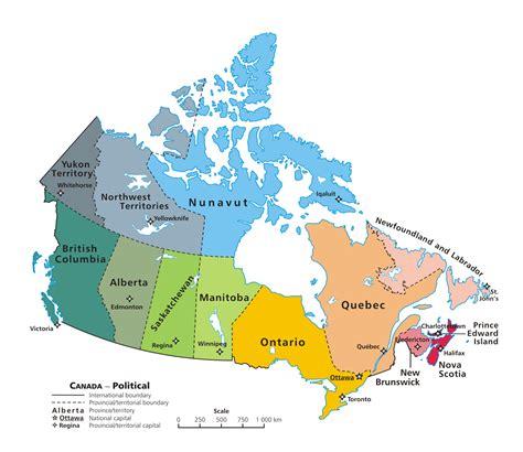 map it canada impressum