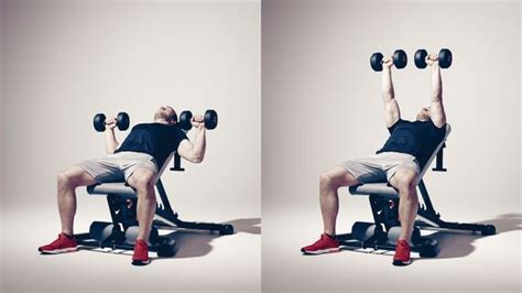 slight incline bench press get lean with this 20 minute dumbbell circuit coach