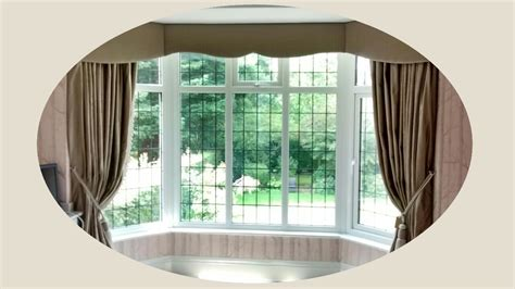 bay window curtains ideas bay window curtain ideas that work perfectly and look great