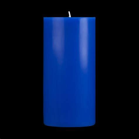 Blue Candles 3x6 Blue Pillar Candle
