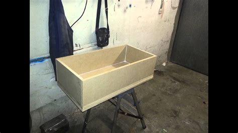 costruire comodino come costruire una cassetta di legno comodino con