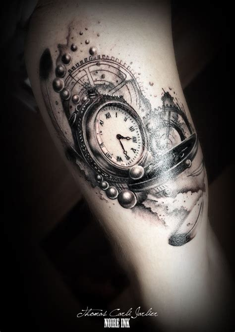 butter tattoo designs clock ink hustle butter and