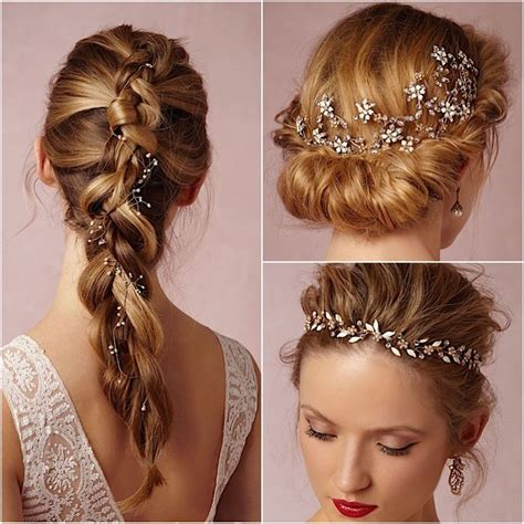 wedding hairstyle accessories bridal hair accessories from bhldn modwedding