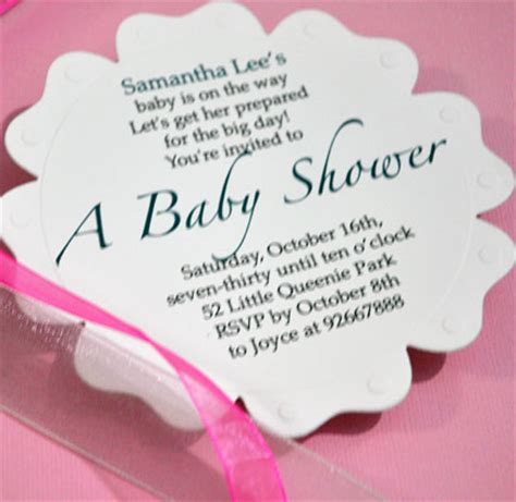 how to make a baby shower invitation card baby shower invitations