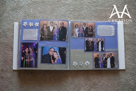 scrapbook album layout scrapbook wedding album of pakistani valima reception at