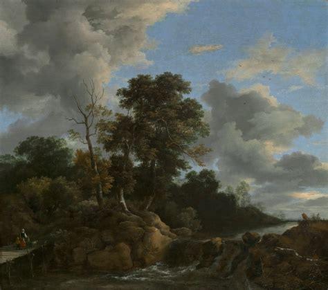 Jacob Van Ruisdael Landscape Ca 1670 Artsy