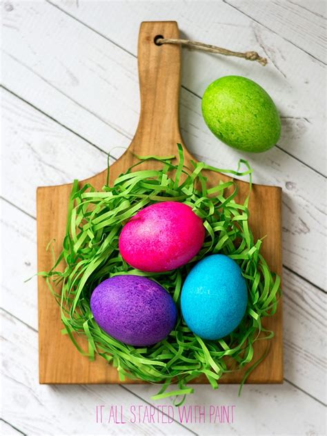 dying easter eggs with food coloring dye easter eggs with rice food coloring it all started