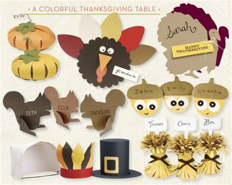 Thanksgiving Paper Craft Ideas - thanksgiving craft ideas