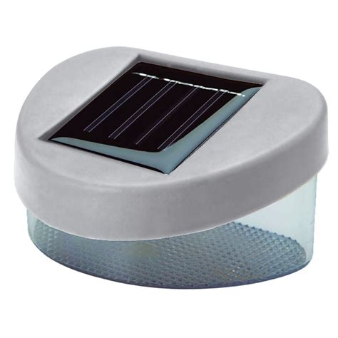 solar powered step lights new solar powered door fence wall step lights led