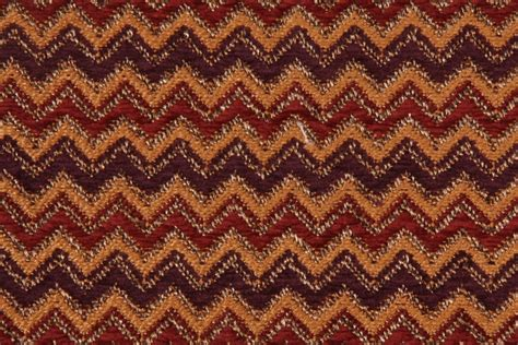 cottage upholstery fabric 0 75 yards cottage zig zag stripe tapestry upholstery