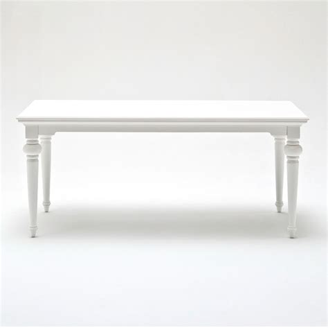 Provence 71 Quot Rectangular Dining Table Pure White Dcg White Rectangle Dining Table
