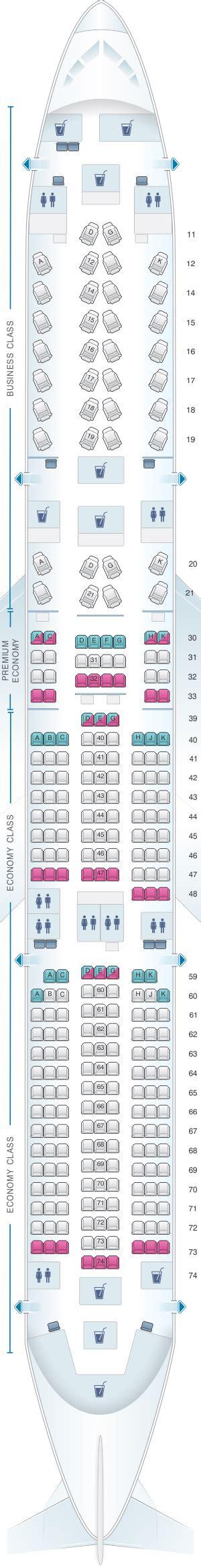 cathay pacific seat map seat map cathay pacific airways airbus a350 900 35g