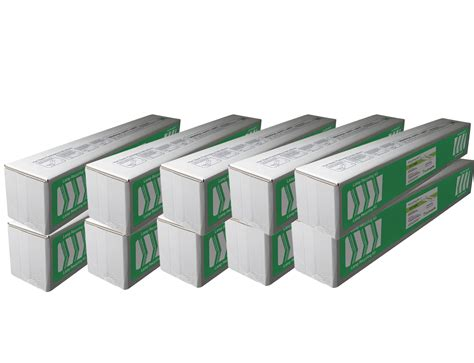fluorescent l recycling boxes 4ft fluorescent l jumbo recycling box 10 pack holds