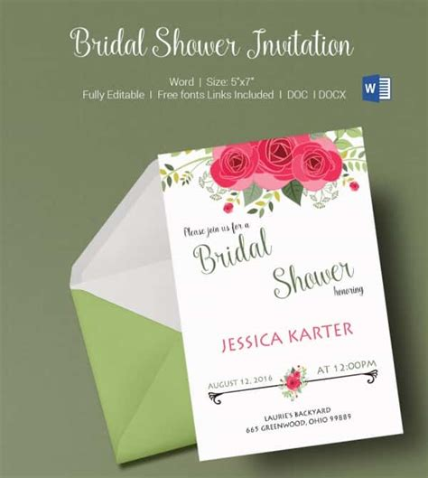 Wedding Shower Banner Template by Wedding Shower Invitations Templates Free Pink Banner