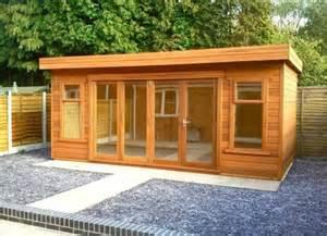Modern Backyard Shed Concrete Garages Wooden Sheds Log Cabins Betta Buildings