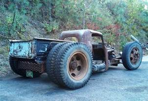 Truck Rod Wheels Tom Dually Rat Truck Rat Rods Dr Who