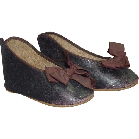 bebe slippers 15 jumeau bebe shoes large and early from