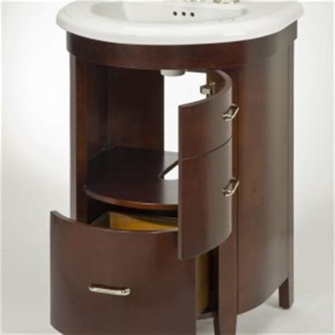 rounded corner bathroom vanity alexa bella 171 empire