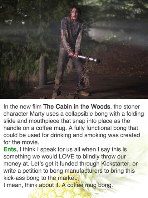 The Bong From Cabin In The Woods by Coffee Mug Bong Cabin In The Woods