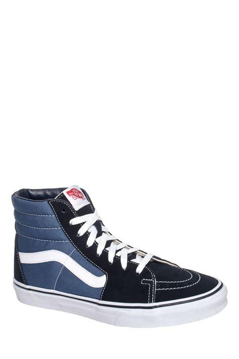 Vans Sk8 High Black Navy vans s sk8 hi high top sneaker navy blue ebay