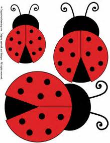 Ladybug Template free coloring pages of ladybird mask