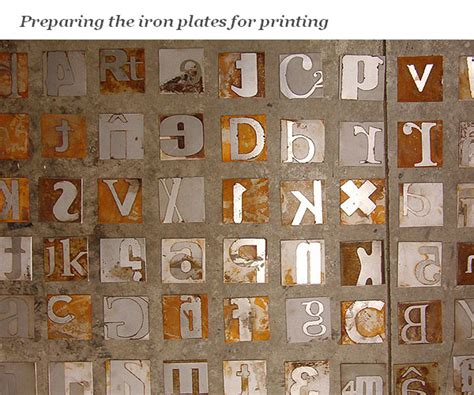 creative typography collection of real object
