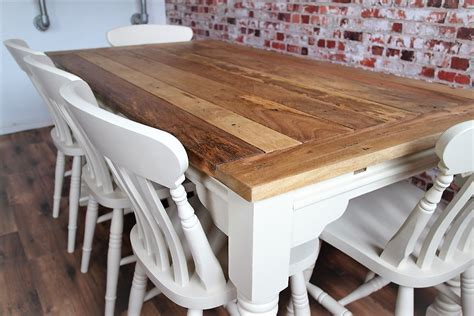 Up to Twelve Seater Rustic Farmhouse Extending Dining