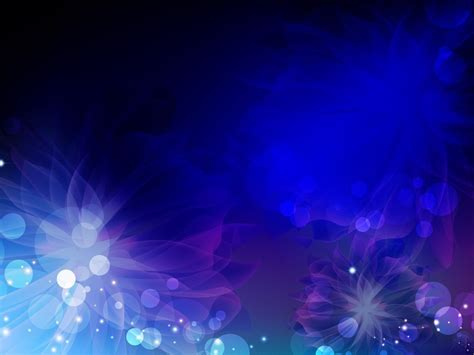 Dark blue floral theme powerpoint powerpoint backgrounds jpg