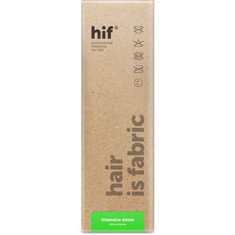 Hair Is Fabric Intensive Detox by Hif Intensive Detox Conditioner 180ml Hq Hair