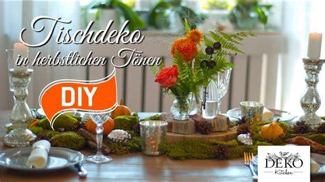 diy festliche tischdeko fuer den herbst deko kitchen