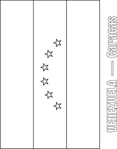 coloring page of venezuela flag venezuela flag coloring page download free venezuela