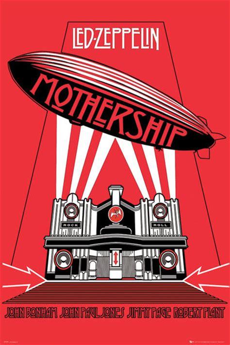 Led Zeppelin Mothership poster quadro led zeppelin mothership em europosters pt