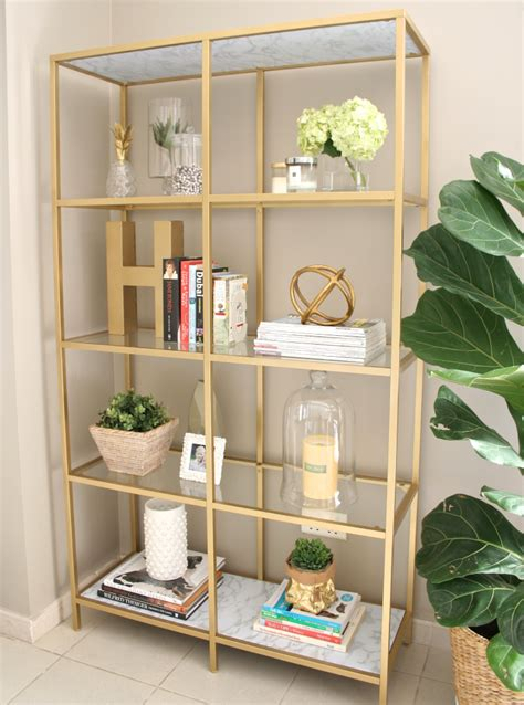 diy gold bookshelf house of hawkeshouse of hawkes