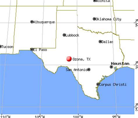 ozona texas map ozona texas map