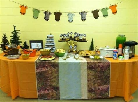 camohunting baby shower theme baby shower pinterest