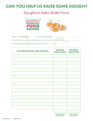 printable krispy kreme order forms krispy order form fill online printable fillable