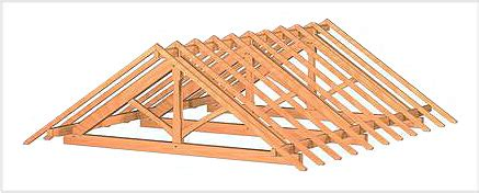 Pre Made Shed Trusses by Zimmerei Dekan