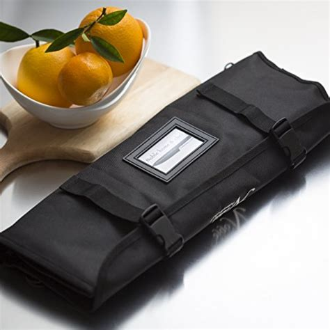 Roll On Pouch Slot 3 chef s knife roll bag 14 slots holds 10 knives plus import it all