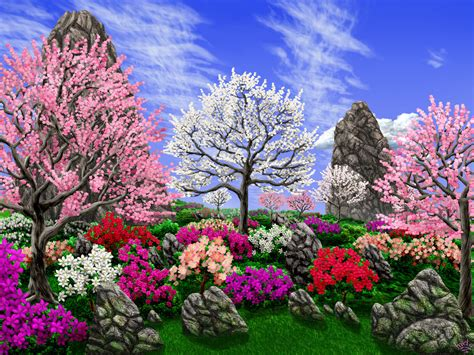 spring gardens spring gardens by priteeboy on deviantart