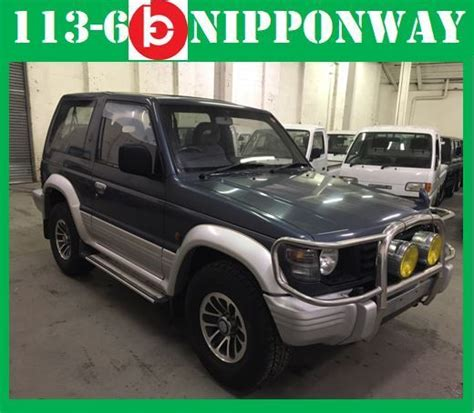 repair anti lock braking 1992 mitsubishi pajero electronic toll collection japanese imports 1992 mitsubishi pajero montero 4wd turbo diesel at no reserve classic