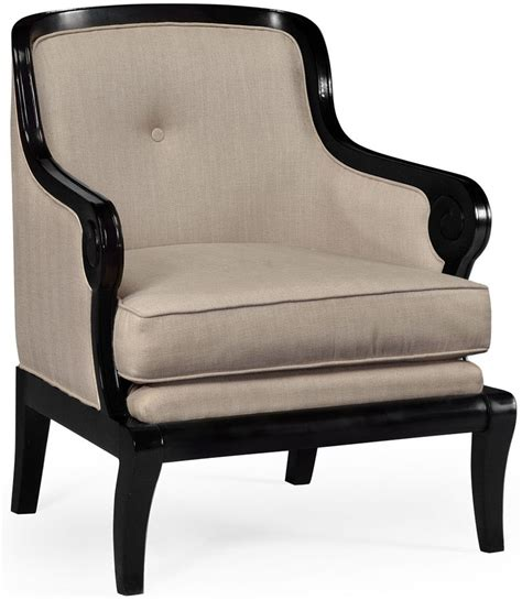 Black Upholstered Chair by Black And Upholstered Occasional Chair