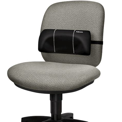 armchair back support fellowes 174 lumbar back support